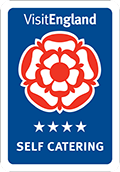Visit England - 4 Star Self Catering award